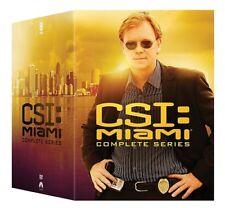 CSI MIAMI THE COMPLETE TV SERIES New 65 DVD Set Seasons 1 2 3 4 5 6 7 8 9 10