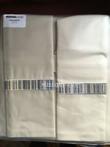 Missoni Home queen sheet set-made in Italy, New!