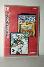 SKATE BOARD DARK/SNOWBOARD PARK TYCOON NUOVO PC CD ROM VERSIONE UK RS2 44841