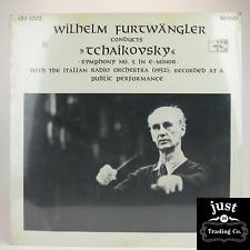 Wilhelm Furtwängler conducts Tchaikovsky with The Italian Radio Orchestra  Mint