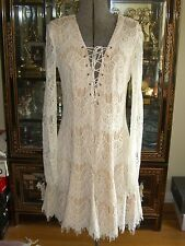 NWT ASOS STYLESTALKER LOVE MACHINE LACE DRESS  M