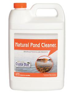 Crystal Blue Natural Pond Cleaner - Muck and Sludge Remover, Safe for Koi - 1