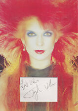 TOYAH WILLCOX In Person Signed 12X8 Photo Display IT'S A MYSTERY COA