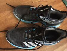 Womens Adidas Black Adizero Ubersonic Clay Tennis Shoes 9