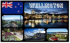 WELLINGTON, SEELAND - SOUVENIR NEUHEIT KÜHLSCHRANK-MAGNET / WEIHNACHTEN