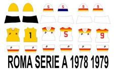 SUBBUTEO SET DECAL HW ROMA 1978 1979