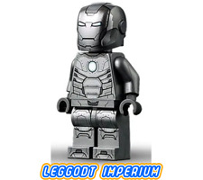 LEGO Iron Man Mark 2 Armor - Marvel Avengers minifigure sh667 FREE POST