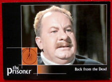 THE PRISONER Autograph Series - Volume 1 - LEO McKERN - Card #36 Cards Inc 2002