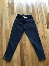 Girls Hanna Andersson Black Pixie Pant Size 130 (8)