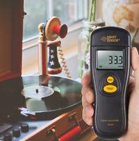 Portable Digital Laser Tachymeter Speed Tachometer Tester for LP Vinyl Turntable