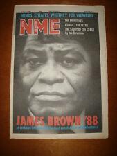 NME 1988 MAR 26 JAMES BROWN SIMPLE MINDS STRAITS CLASH