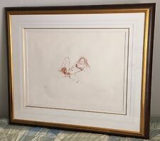 JOHN LENNON The Beatles Signed Bag One Lithograph EROTIC #5 w COA Autograph