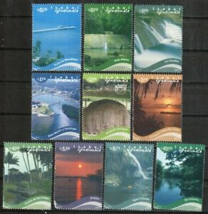 Guatemala Stamp - Tourist attractions Stamp - NH