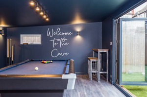 Welcome To The Cave Wall Art Decal Sticker Q257