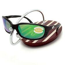 NEW Costa Del Mar BRINE Black & 580 Green Mirror Plastic 580P