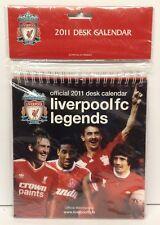 Liverpool FC Legends Official 2011 Desk Calendar BNIB