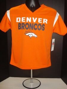 Denver Broncos YOUTH 100% Polyester Jersey Shirt- New With Tags - FREE SHIPPING!