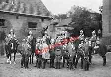 Wilhelm II. Orient viaje guardaespaldas tropenuniform oficiales cuartel Potsdam 1898!!!
