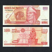 2008 MEXICO 100 PESOS P-118o UNC> >NEZAHUALCOYOTL STATUE OF XOCHIPILLI SERIE ED