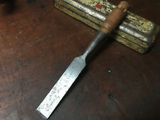 "Vintage Ohio Tools 1"" Socketed framing Chisel Antique Woodwork Tools"