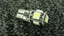 VAUXHALL CAR WHITE LIGHT BULBS LED ERROR FREE CANBUS 5 SMD XENON