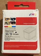 Lexmark Remanufactured 50/70 Black Inkjet Cartridge