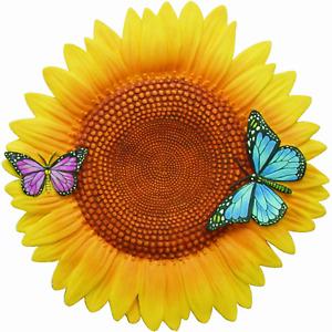 Garden Décor Sunflower Stepping Stone Outdoor Butterfly