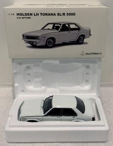 BIANTE AUTOART 1:18 HOLDEN LH TORANA SLR 5000 L34 OPTION GLACIER WHITE 1975 SL/R