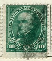 USA; 1895 early Presidential series issue fine used 10c. value