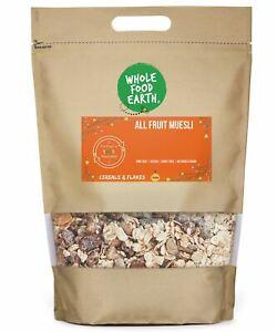 All Fruit Muesli    GMO Free   Vegan   Dairy Free   No Added Sugar
