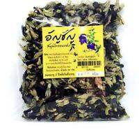 Tea Flower Thai Dried Butterfly Pea Organic Natural Herbal Blue Drink Healthy