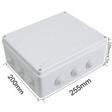 ABS IP65 Waterproof Junction Box Universal Plastic Electrical Box Outdoor AU