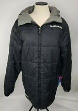 The White Collection by Burton Large Men's Black Puffer Coat