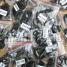 330Pcs Rubber O-Ring Assortment Kit / Section 2.4, 3.1mm / Out Dia. 8-30mm