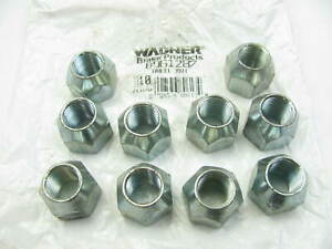 (10) Wagner BD61287 Wheel Lug Nuts - Front / Rear