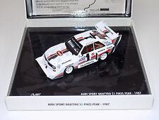 1/43 Minichamps Audi Sport Quattro S1 Pikes Peak 1987 Walter Rohrl Lim to 6,687