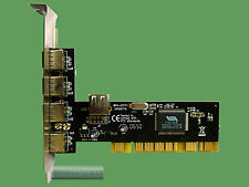 USB 5 in 1 PCI Karte VIA VT6212L