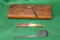 "Clean Crisp Antique 1-1/4""  No 16 Round Woodworking Moulding Plane Inv#EB76"