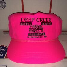 DEEP CREEK Refuse Service Friendsville MD Maryland Garbage Collection Truck Co.