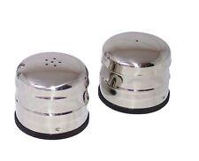 Tradizionale JUMBO Salt & Pepper Pots Shaker distributori ortaggio CAFE Set di 2