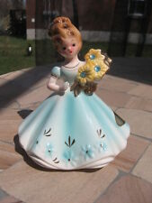 "FIGURINE JOSEF ORIGINAL AQUAMARINE MARCH 4.25"" inches tall"