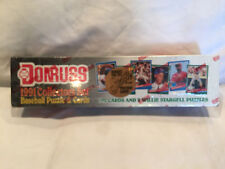 1991 Donruss Baseball Complete 792 Cards & 2 Puzzles Collectors Set Sealed NIB