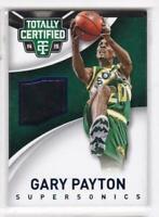 2004-15 Gary Payton /99 Jersey Panini Totally Certified Sonics