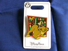 Disney * SIMBA - READY TO POUNCE - LION KING * New on Card Character Trading Pin
