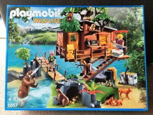 TOP ZUSTAND 5557 Playmobil WILD LIFE Baumhaus KOMPLETT in OVP