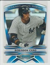 Robinson Cano 2012 Bowman Chrome Die Cut REFRACTOR Legends in the Making #LIM-RC