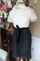 RED VALENTINO LACED EYELET DRESS SIZE 2 (DR300