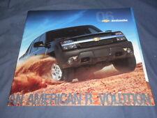 2006 Chevy Chevrolet Avalanche Pickups SUV Brochure Prospekt