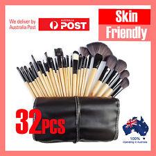 32Pcs Professional Makeup Brush Kit Set Cosmetic Make Up Beauty Brushes Wood
