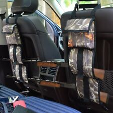 Back Seat Gun Sling Rifle Holder Pockets Truck SUV Camo Tactical Hunting Straps
